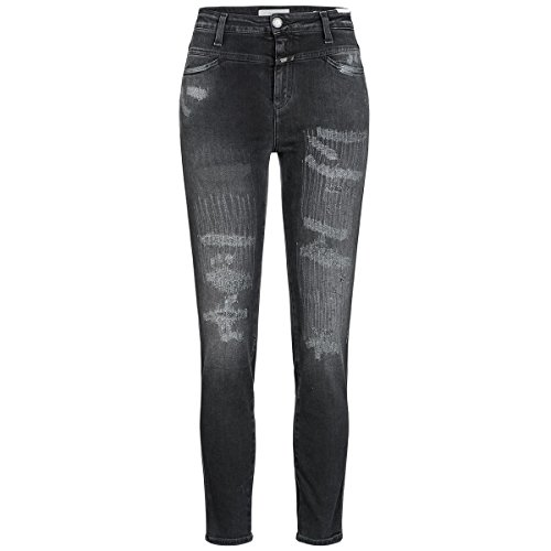 Closed Jeans Skinny Pusher 26 anthrazit