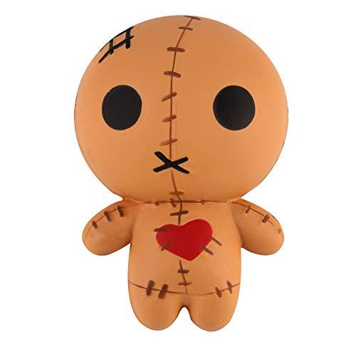 Anboor Squishies Puppe Geisterpuppe Chucky Langsam Steigend Squeeze Spielzeug Slow Rising Antistress Squishies Spielzeug Kawaii f¨¹r Kinder Erwachsene