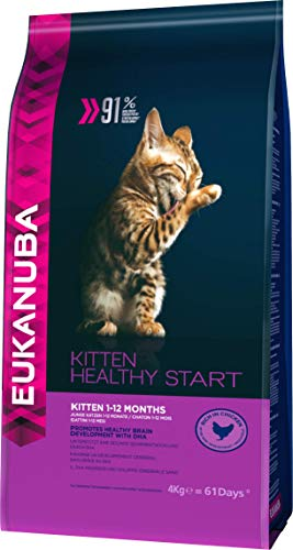 Eukanuba Healthy Start Gatito Rico en pollo 4 kg