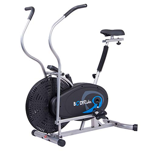 Body Rider Upright Exercise Fan Bike, Indoor Stationary Bike for Cycling