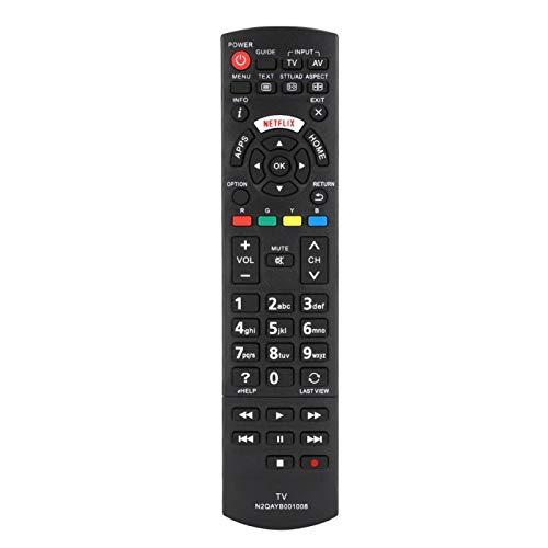 Agatige Accesorios de TV LCD, Accesorio de Repuesto de Seguridad con Control Remoto de Televisión LCD TV para N2QAYB001008