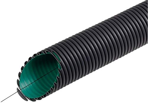 Fränkische Kabelschutzrohr Kabuflex R plus Typ 450 63,0x52,0mm für Erdverlegung schwarz 50 Meter