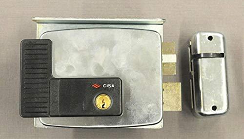 Cisa 11510-30 Serratura Elettrica per Cancello 11761, Entrata Destra, 60 mm