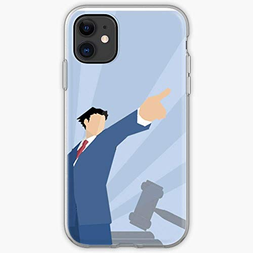 Attorney Phoenix Ace Wright Gaming Phone Case for All of iPhone 12, iPhone 11, iPhone 11 Pro Max, iPhone XR, iPhone 7/8 / SE 2020 7/8 Plus 6/6s Plus Samsung S10 Plus S10 S20 5G