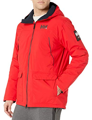 Helly Hansen Shoreline Parka Homme, Rouge, FR (Taille Fabricant : XL)