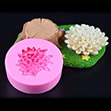 Cake Molds - Chrysanthemum Flower Silicone Molds Candy Chocolate Cake Baking Tools Mold Kitchen Accessories Decorations DI...