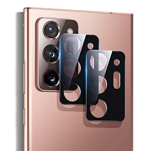 ESR Protector de Lente para cámara para Samsung Note 20 Ultra 5G 2020[2 Unidades] [Cristal Templado] [Resistente Arañazos] [Ultrafino] Protector para cámara para Samsung Galaxy Note 20 Ultra 5G