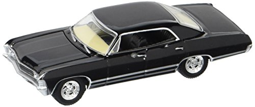Greenlight Hollywood Supernatural Join The Hunt Diecast Car - 1967 Chevrolet Impala Sport Sedan 1:64 Scale by Hollywood