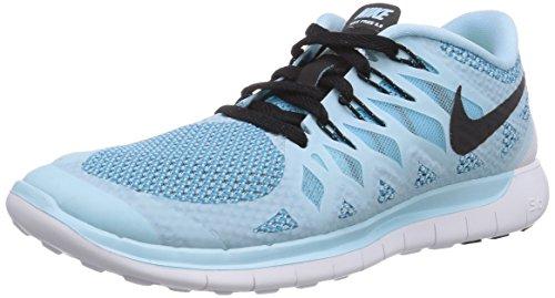 Nike Free 5.0, Damen Laufschuhe, Blau (Ice Cube Blue/Black-Clearwater 402), 38 EU