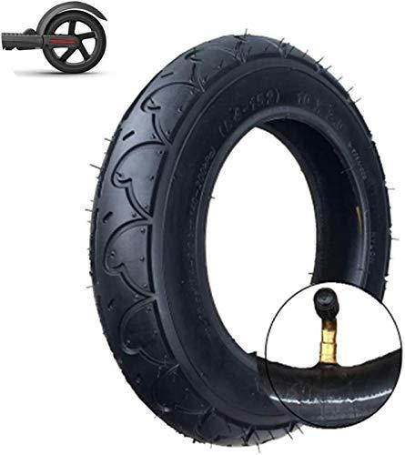 aipipl Neumáticos para patinetes eléctricos, neumáticos Interiores y Exteriores inflables 10x2.0, neumáticos...