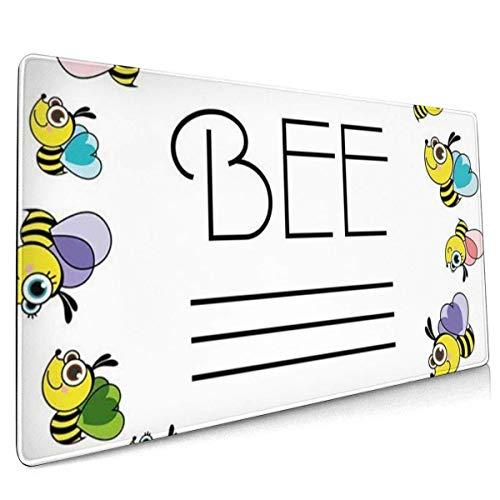 Multifunktions-Gaming-Mauspad, Computertastatur-Mauspads für Spiele - Landwirtschaft Honigbienen Tier-Imker Bienenhaus Bienenstock Imker