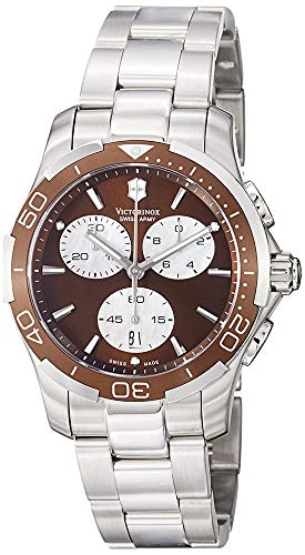 Victorinox Swiss Army Women's 241502 Brown Dial Chronograph Watch