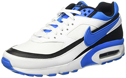 Nike Air Max BW (GS), Scarpe da Ginnastica Uomo, Bianco (White/Photo Blue-Black), 36 1/2 EU
