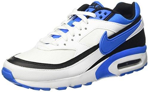 Nike Air Max BW (GS), Scarpe da Ginnastica Uomo, Bianco (White/Photo Blue-Black), 36 1/2