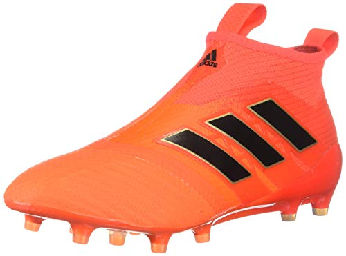 adidas Ace 17+ Purecontrol FG Cleat Men's Soccer 13 Solar Orange-Core Black-Solar Red