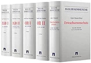 Basler Kommentar OR I + OR II + ZGB I + ZGB II + Aktualisierungsband Erwachsenenschutzrecht: Kombipaket