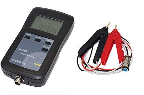 LIPENLI 4 línea YR1035 Batería Resistencia interna Medidor de prueba: prueba de alta precisión/voltaje de batería/analizador de batería digital (SET B)