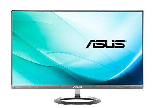 Asus MX27AQ 68,5 cm (27 Zoll) Monitor (WQHD, HDMI/MHL, DisplayPort, 5ms Reaktionszeit) Metallgrau