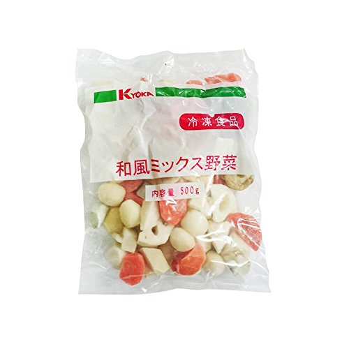 【冷凍】 業務用 和風 野菜 ミックス 500g 京果食品 冷凍野菜 野菜ミックス