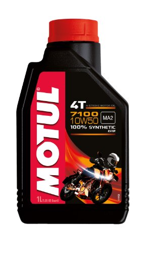 Motul 104097 7100 4T, 10 W-50, 1 L
