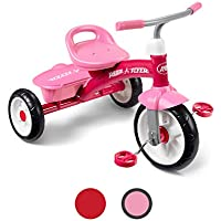 Radio Flyer Pink Rider Trike outdoor toddler tricycle