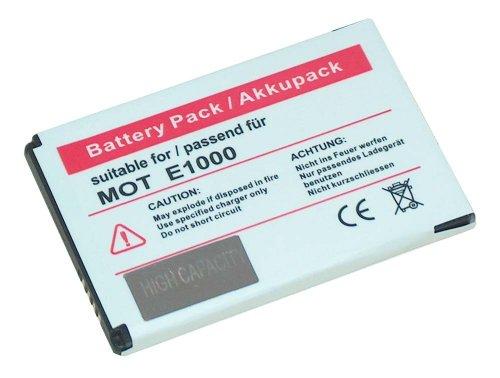 Power Akku Li-Ion für Motorola E1000 V980 C975 V360 C980 V975 V235 W220 W375 MOTOKRZR K3 W205 W208 W510 A1200 A910 MOTOKRZR K1m V237 W160 W180 W218 W230 W377 W380 W395 W490 W700 Z6w