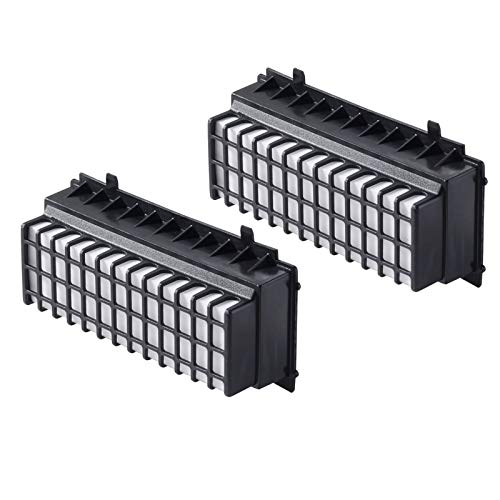 2er-Pack HEPA Filter für Bosch Staubsauger Relaxx'x BGS51410 / BGS51431 / BGS5330A / BGS5331 / BGS5335 alternativ Filter 00577281, 00573928 von Microsafe