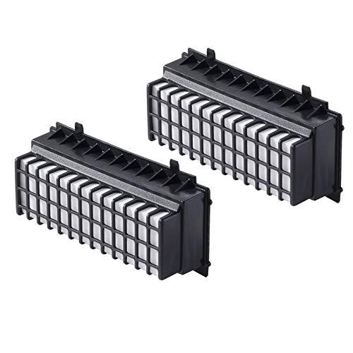 2er-Pack HEPA Filter für Bosch Staubsauger Relaxx'x BGS5SILM1 / BGS5SMRT66 alternativ Filter 00577281, 00573928 von Microsafe