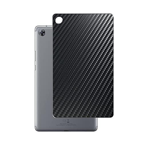 VacFun 2 Piezas Protector de pantalla Posterior, compatible con Huawei MediaPad M5 8.4, Película de Trasera de Fibra de carbono negra Skin Piel