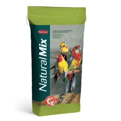 Padovan Naturalmix Parrocchetti - Alimento Completo per parrocchetti - 20 kg