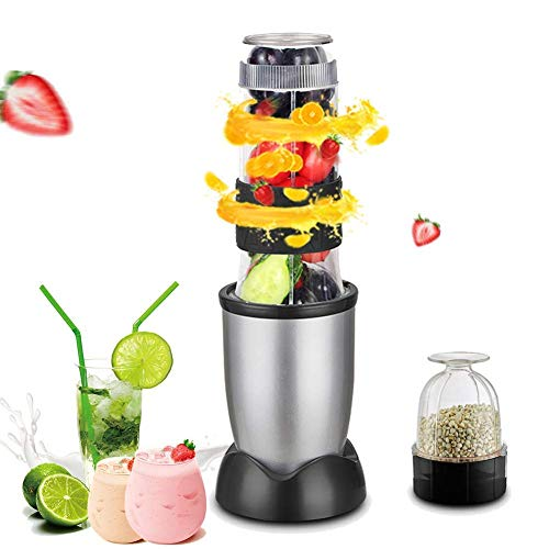 Hefacy Blender, juicer and grinder machine for 2200 W food blender with sharp stainless steel blades for smoothies Fruit juices Ice blender Baibao