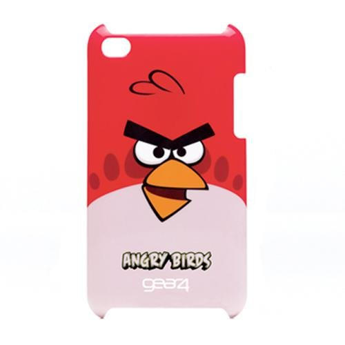 Gear4 G4TCAB401 - Funda para Apple iPod Touch 4, modelo Angry Birds, color rojo