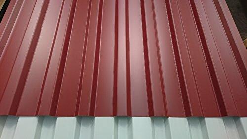 Aluminium Trapezblech 20/125 oxidrot (2500)