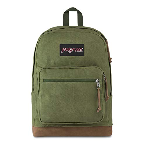 JanSport Right Pack Expressions New Olive Canvas One Size