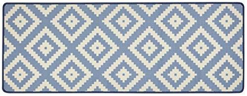 Hanse Home Küchenläufer Raute Blau, 67x180 cm