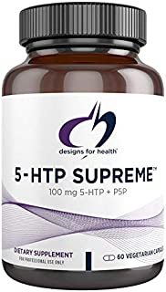 Designs for Health 5-HTP 100mg with Vitamin B6 (P-5-P) - 5-HTP Supreme 100 mg Supplement - Serotonin Precursors to Help Su...