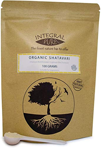 Shatavari Powder | Organic Certified | Asparagus Root Powder | 1g Scoop Included (200g)