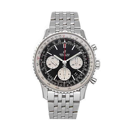 Breitling Navitimer Mechanical(Automatic) Black Dial Watch AB0121211B1A1 (Pre-Owned)