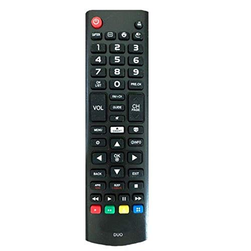 Controle Remoto MXT 01318 TV SMART MIX LG Samsung Futebol