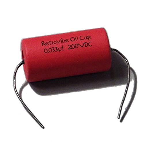 Montreux Retrovibe Oil Capacitor 0.033uF 200VDC Retrovibe Parts No.8911 コンデンサー