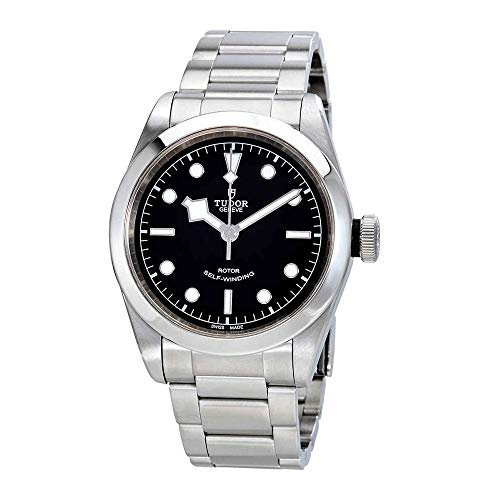 Tudor patrimonio nero Baia automatico 41mm mens orologio in acciaio...