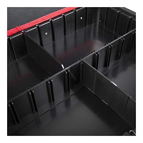 STIER Kunststoff-Fachtrenner-Set für STIER Werkzeugkoffer, leer, 4-teilig