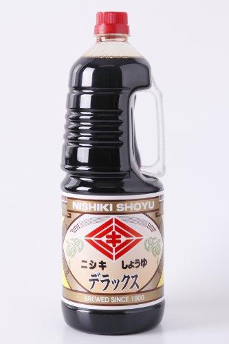 ニシキ醤油 デラックス JAS 本醸造 特級 こいくち 1.8Lハンディボトル