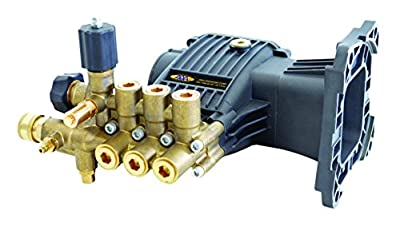 AAA Pumps 90038 AAA Technologies Triplex Plunger Pump Kit 3800 PSI at 3.5 GPM, Blue/gold
