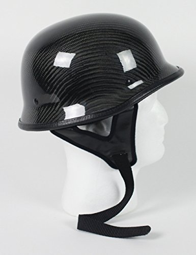 Rodia Carbon Fiber German Motorcycle Helmet DOT (XL)