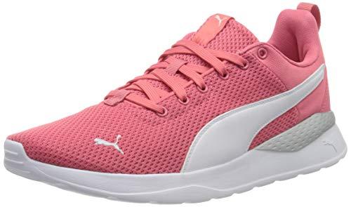 PUMA Unisex Adult Anzarun Lite Sneaker, Sun Kissed Coral White, 39 EU
