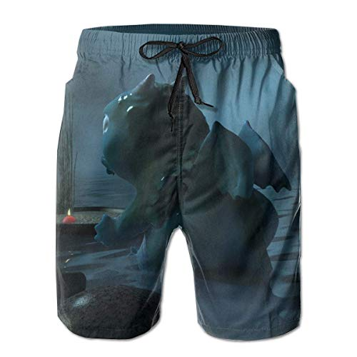 Badehose Herren Badehose Dragon Surfing Beach Board Shorts Badebekleidung XLarge