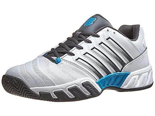 K-Swiss Bigshot Light 4, Zapatos de Tenis Hombre, Blanco, 41...