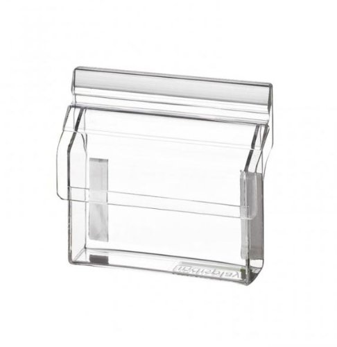 Visitenkartenbox mit Deckel Outdoor aus glasklarem Acrylglas VBO95