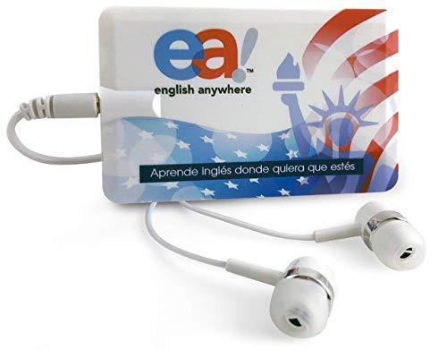 Curso de Ingles - Aprender Ingles Basico | EnglishCourse EA English Anywhere | Incluye Reproductor Mp3 Ultra Plano con 90 Lecciones en Audio | Spanish Edition.